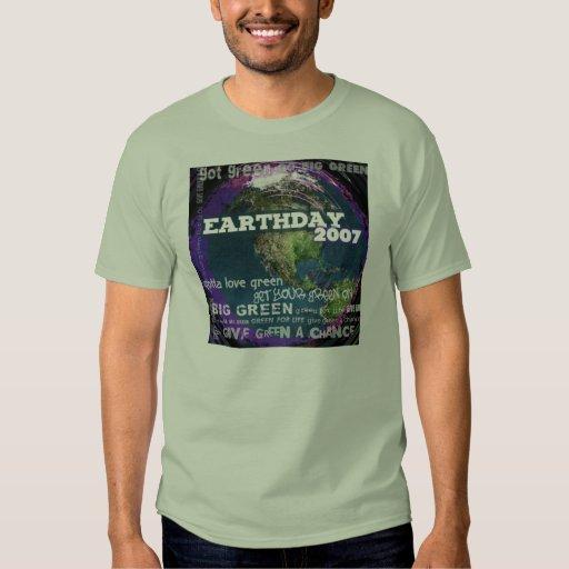 Día de la Tierra 2007 Polera