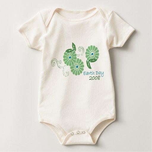 Día de la Tierra 2008 Traje De Bebé