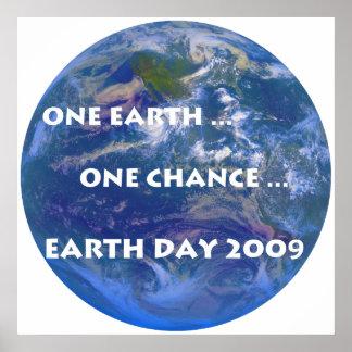 Día de la Tierra 2009 Póster