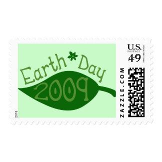 Día de la Tierra 2009 Sello