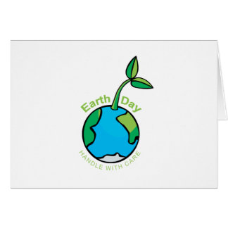 Día de la Tierra 2009 Tarjeton