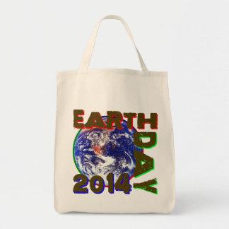 Día de la Tierra 2014 Bolsa Tela Para La Compra
