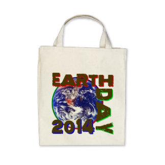 Día de la Tierra 2014 Bolsas De Mano