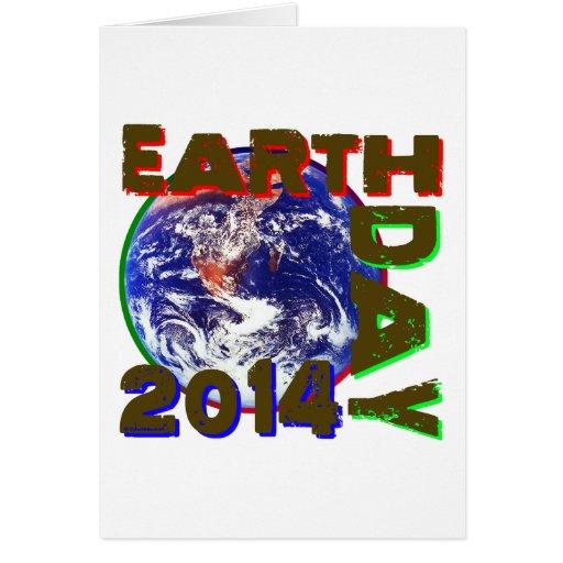 Día de la Tierra 2014 Tarjetas