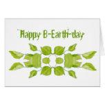 Día de la Tierra 22 de abril divertido, cumpleaños Tarjeta