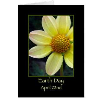Día de la Tierra 22 de abril feliz Tarjeta De Felicitación