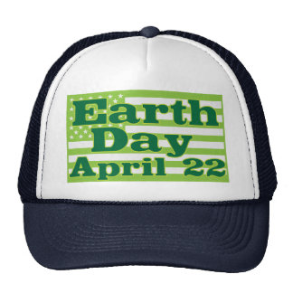 Día de la Tierra 22 de abril Gorras De Camionero