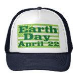 Día de la Tierra 22 de abril Gorras