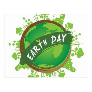 Día de la Tierra - 22 de abril Tarjetas Postales