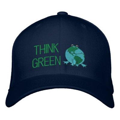 Día de la Tierra ambiental Gorros Bordados