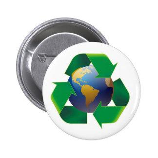 ¡Día de la Tierra - Botón Pin