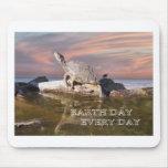 Día de la Tierra cada día Alfombrilla De Raton