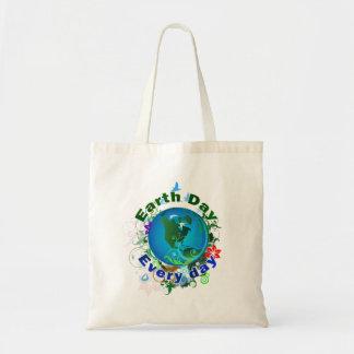 Día de la Tierra cada día Bolsa De Mano