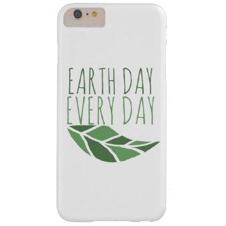 Día de la Tierra cada día Funda Barely There iPhone 6 Plus