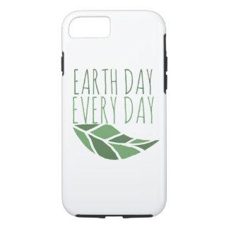Día de la Tierra cada día Funda iPhone 7