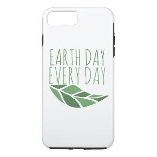 Día de la Tierra cada día Funda iPhone 7 Plus