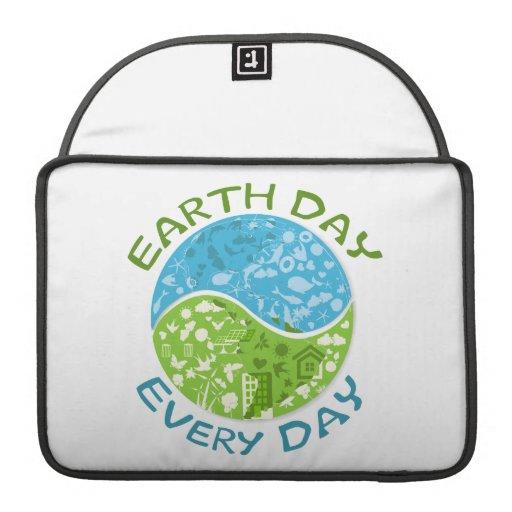 Día de la Tierra cada día Funda Macbook Pro