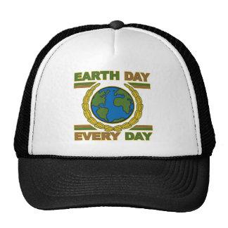 Día de la Tierra cada día Gorro