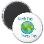 Día de la Tierra cada día Iman De Frigorífico