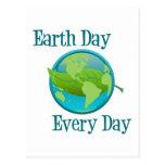 Día de la Tierra cada día Postales