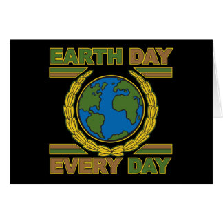 Día de la Tierra cada día Tarjeta