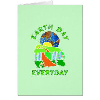 Día de la Tierra cada día Felicitaciones