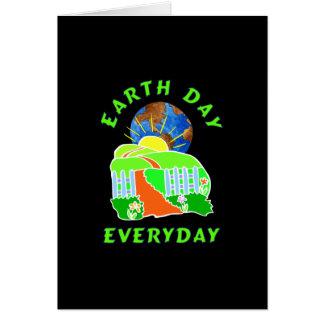 Día de la Tierra cada día Felicitacion