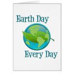 Día de la Tierra cada día Tarjetas