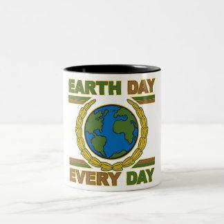 Día de la Tierra cada día Tazas De Café
