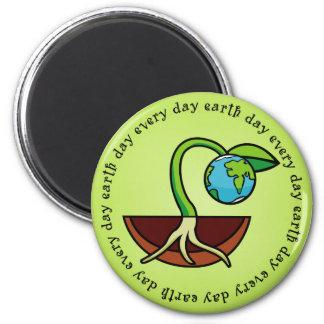 Día de la Tierra cada imán del día