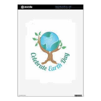 Día de la Tierra Calcomanías Para iPad 2
