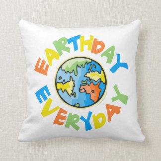 Día de la Tierra Cojines