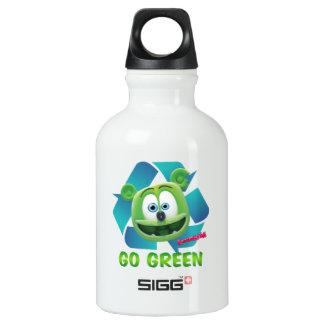 Día de la Tierra de Gummibär (el oso gomoso) Botella De Agua