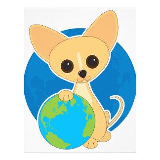 """Día de la Tierra de la chihuahua Folleto 8.5"""" X 11"""""""