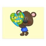Día de la Tierra del oso Postales