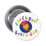 Día de la Tierra diario Pins