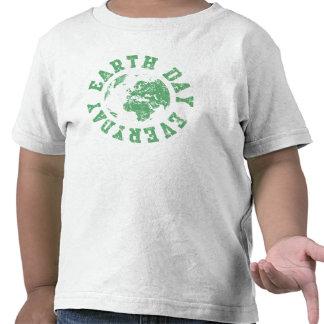 Día de la Tierra diario Camisetas