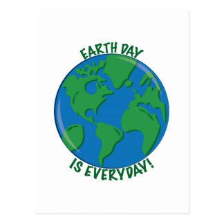 Día de la Tierra diario Postales