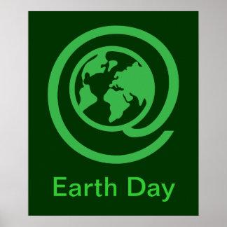 Día de la Tierra, @earth Póster