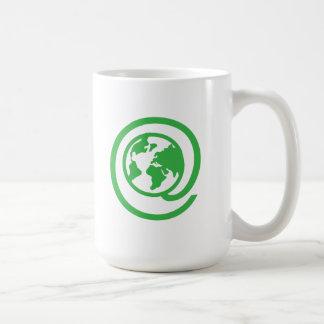 Día de la Tierra, @earth Taza De Café