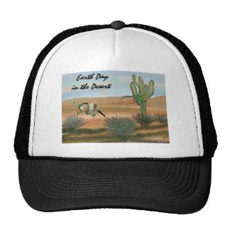 Día de la Tierra en el gorra del desierto