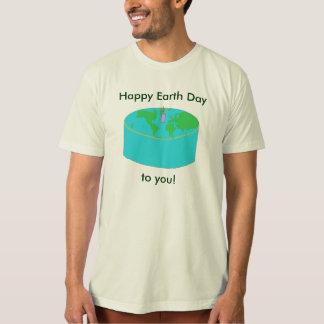 """""""Día de la Tierra feliz a usted!"""" camisa"""