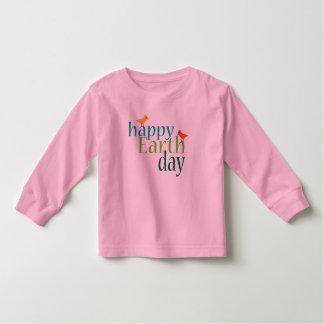 Día de la Tierra feliz Remera
