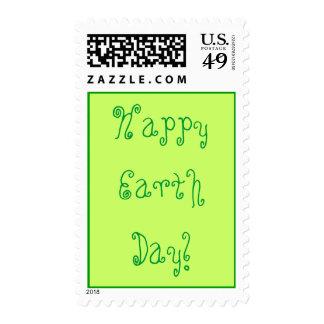¡Día de la Tierra feliz! Sellos