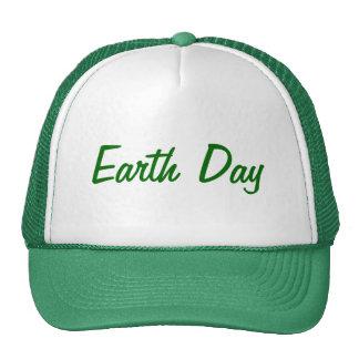 Día de la Tierra Gorro De Camionero