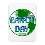 Día de la Tierra - Imanes Flexibles