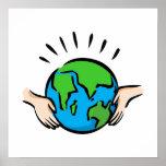 Día de la Tierra Impresiones