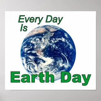 Día de la Tierra Poster