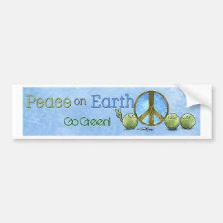Día de la Tierra - pegatinas para el parachoques d Pegatina Para Auto