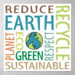 Día de la Tierra Posters
